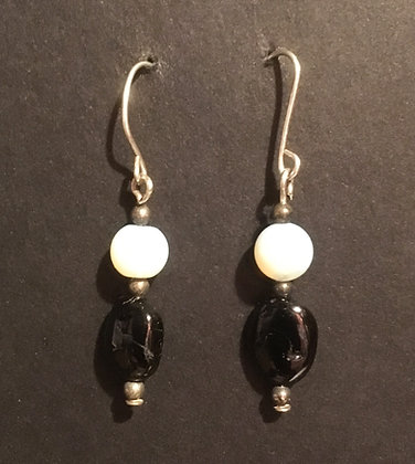 Galloway Tourmaline & Opaline Earrings