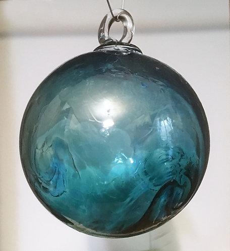 Oberini Blown Glass Swirl Ornaments