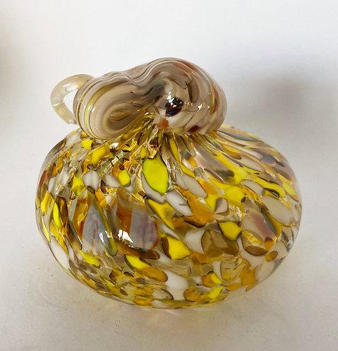 Jeremy Meisel Glass Pumpkin