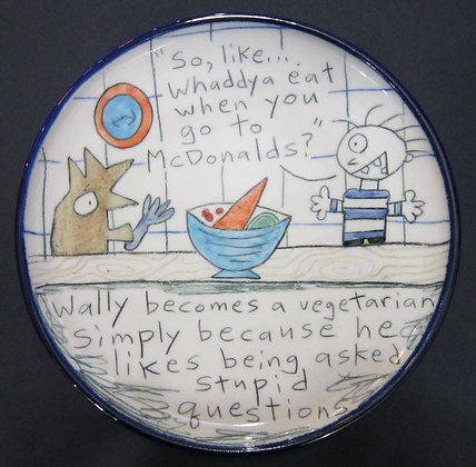 Wallyware McDonalds Plate