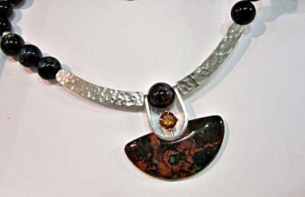 Wolfgang Vaatz Green Opal Necklace