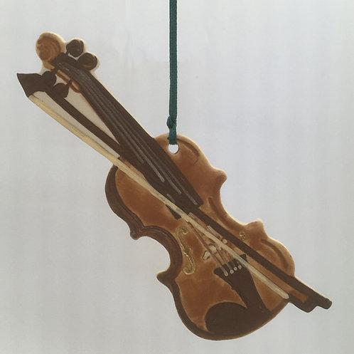 Tewksbury Porcelain Ornament - Violin