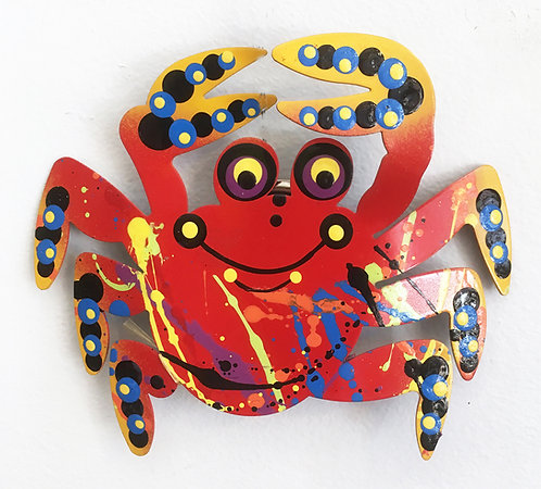 Graham Metal Art - Fiddler Crab Magnets