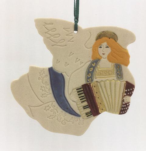 Tewksbury Porcelain Ornament - Angel