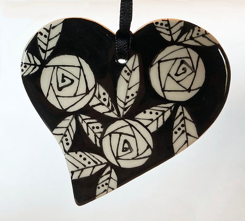 Bach Studio Heart Ornaments