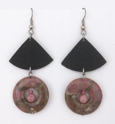 Corbett Rhodenite Dangle Earrings