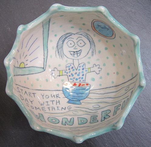 Something Wonderful Bowl