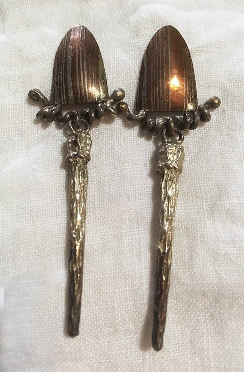Beth Evans Sterling Silver Earrings