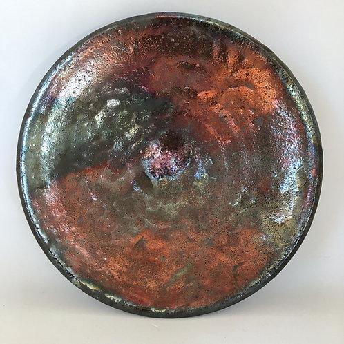 Wheel Art Raku Bowl