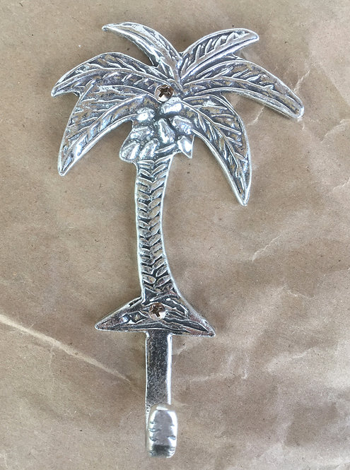 Crosby & Taylor Pewter Palm Tree Hooks