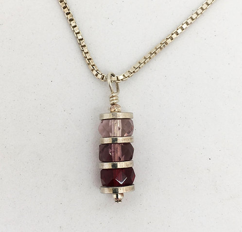 Jane Campbell Sterling Silver Necklace