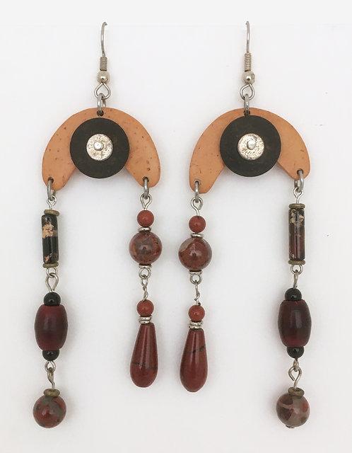Corbett Crescent Dangle Earrings