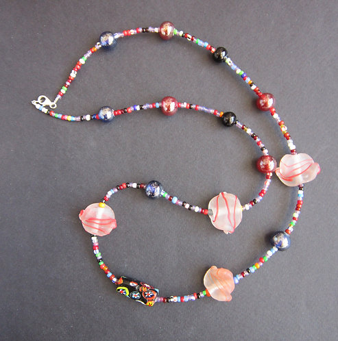 Galloway Beaded Necklace - Aunt Berty