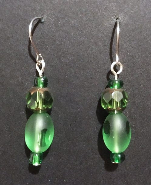 Galloway Faceted Glass Earrings