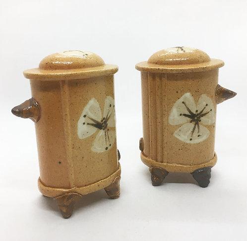 TT Pottery Salt and Pepper Shakers