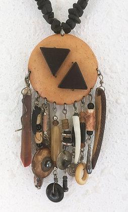 Corbett Beaded Medallion Necklace