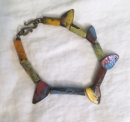Barb Sipher Enameled Bracelet