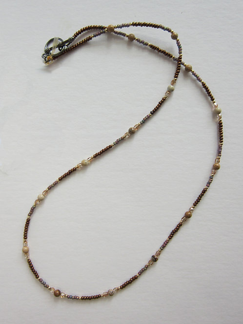 Galloway Beaded Necklace - Lady Monica