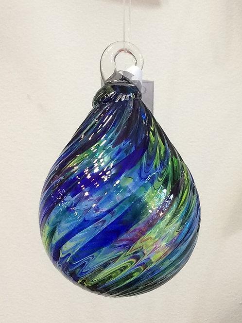 Glass Eye Studio Ocean Raindrop Ornaments