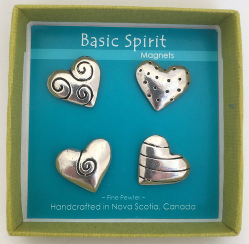 Basic Spirit Mini Pewter Magnet Sets