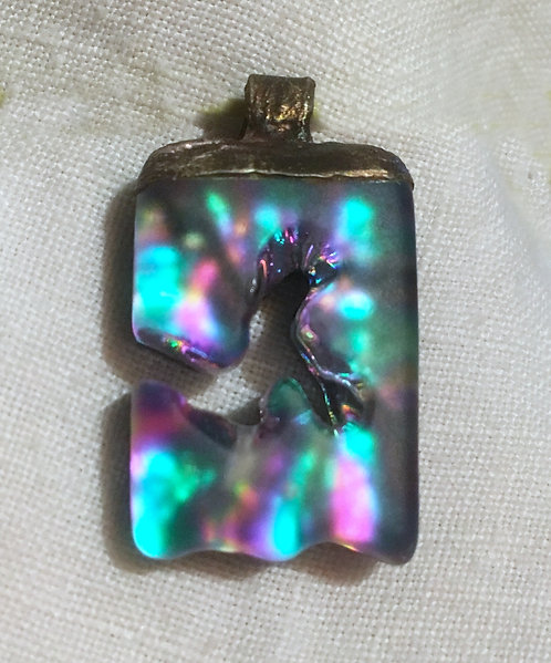 Dee Janssen Dichroic Glass Pendant