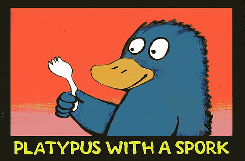 Paul Volker Small Art Reproduction - Platypus