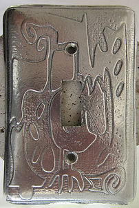 celtic switchplate