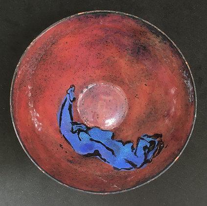 Barb Sipher Enameled Bowl