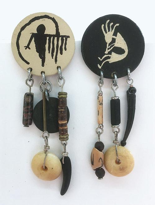 Corbett Petroglyph Post Earrings