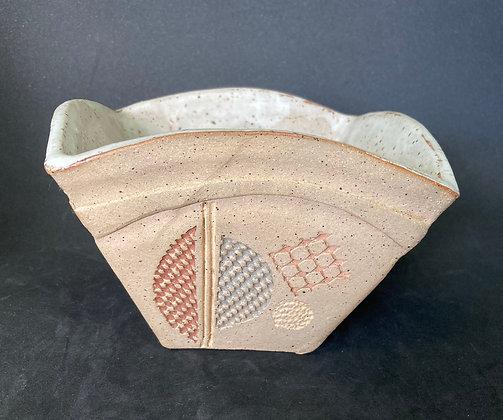 Leung Stoneware Square Bowl