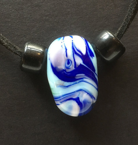 Galloway Lampworked Bead Necklace