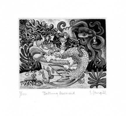Susan Sturgill - Bathing Mermaid
