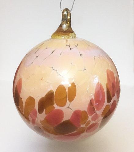 DBR Glassworks Blown Glass Frit Ornament
