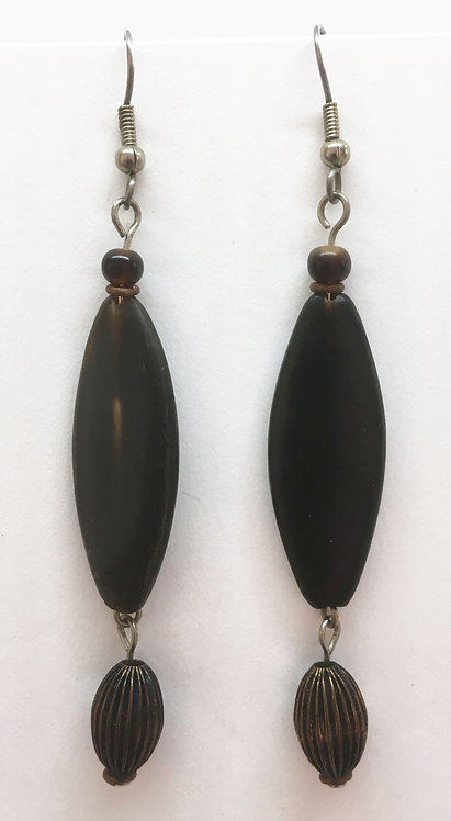 Corbett Horn Dangle Earrings