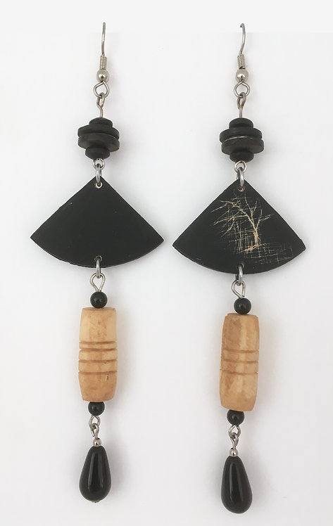Corbett Tree Dangle Earrings