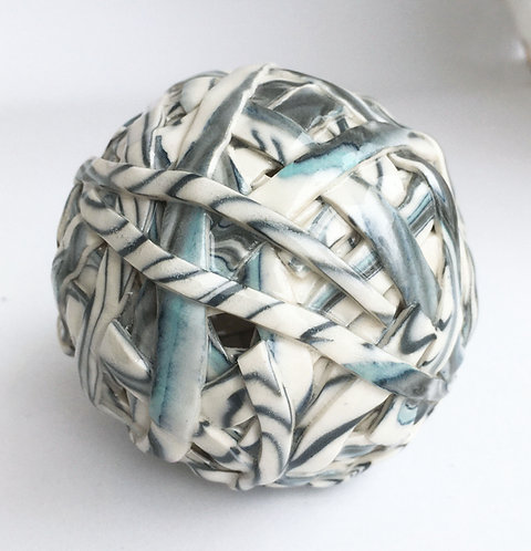 Barbara Cahn Porcelain Ball BA2