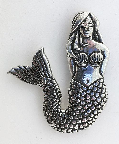 Basic Spirit Pewter Mermaid Magnets