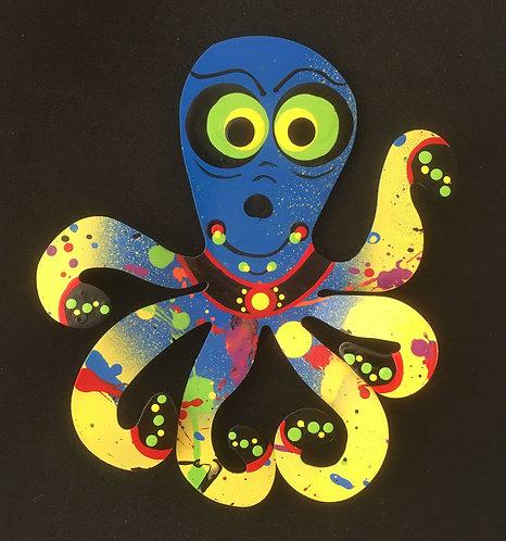 Graham Metal Art - Octopus Magnets