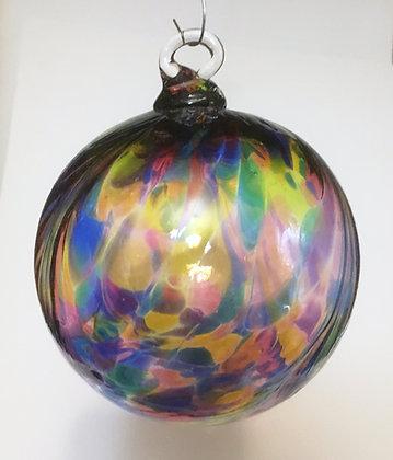 Oberini Blown Glass Frit Ornaments