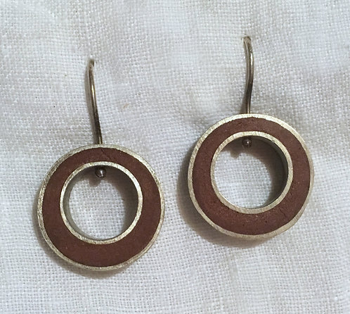 Smersh Design Sterling Silver Earrings