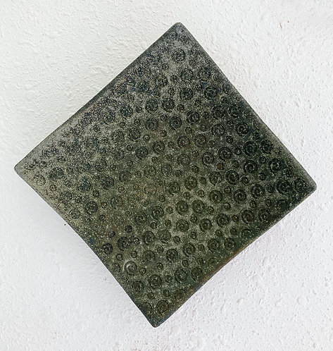 Clay Cellar Raku Dish