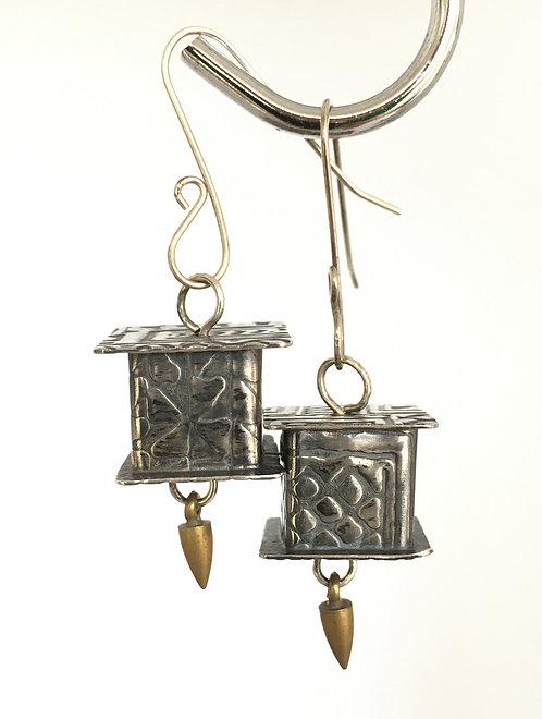 Kindred Spirits Sterling Silver Earrings