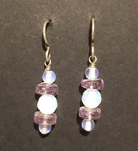 Galloway Amethyst Earrings