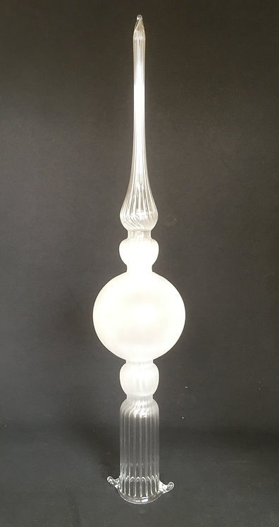 Salusa Glassworks Frosted Tree Topper