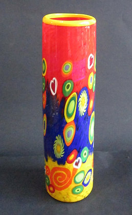Mad Art Tall Cylinder Glass Vase