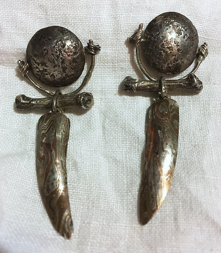Beth Evans Sterling Silver Earrings