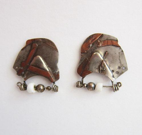 Philip Crooks Post Earrings