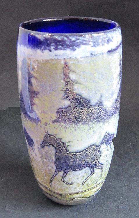 Bendzunas Horse Vase