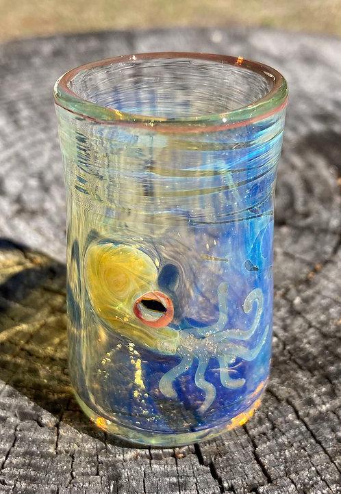 OT Glass shotglasses - Octopi