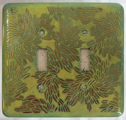 Loughran Double Switchplates - Floral